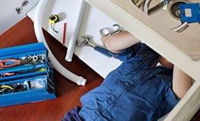 Plumber Fixes Sink - San Diego Plumber