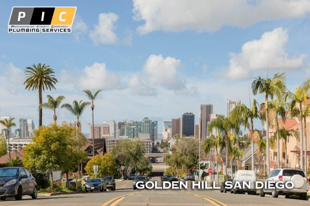 Plumbers in Golden Hill San Diego