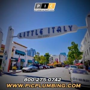 Plumbers in Little Italy San Diego California