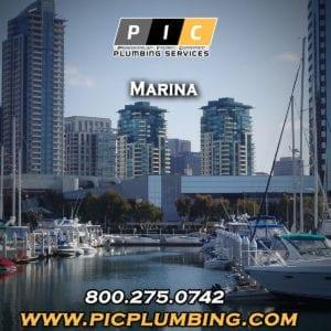 Plumbers in Marina San Diego California