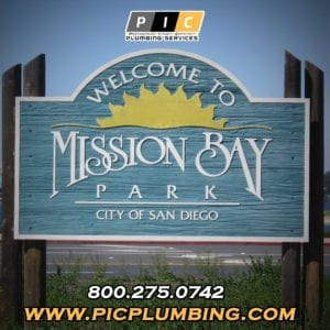Plumbers in Mission Bay San Diego California