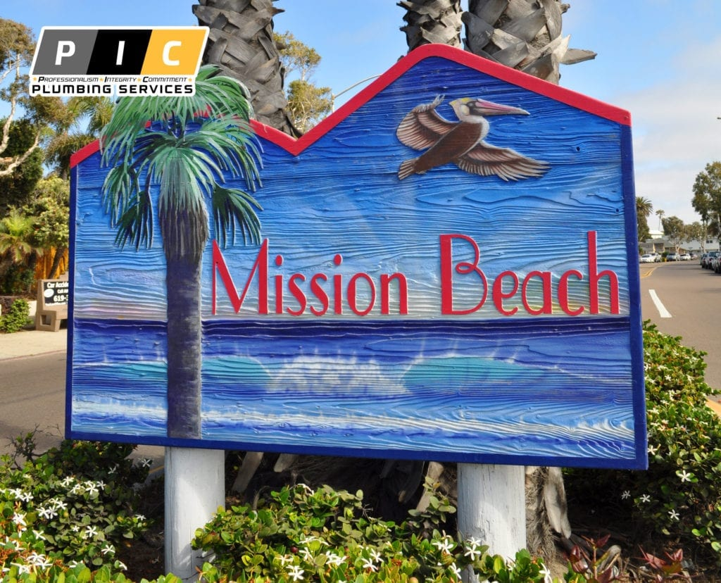 Plumbers in Mission Beach San Diego California