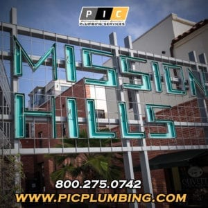 Plumbers in Mission Hills San Diego California