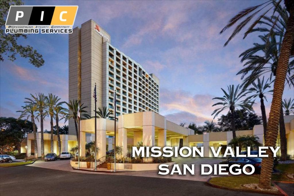 Plumbers in Mission Valley San Diego California