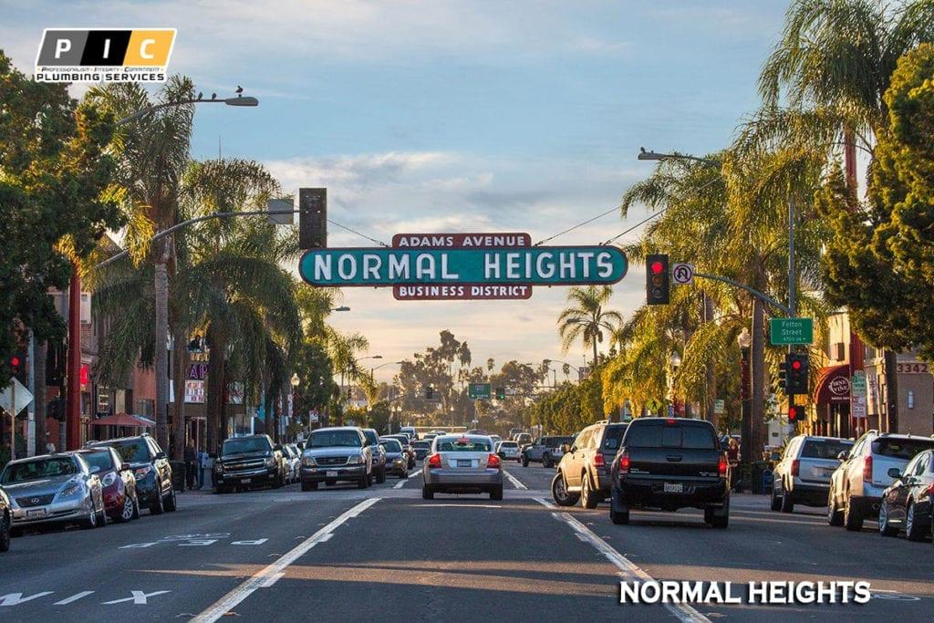 Plumbers in Normal Heights San Diego California