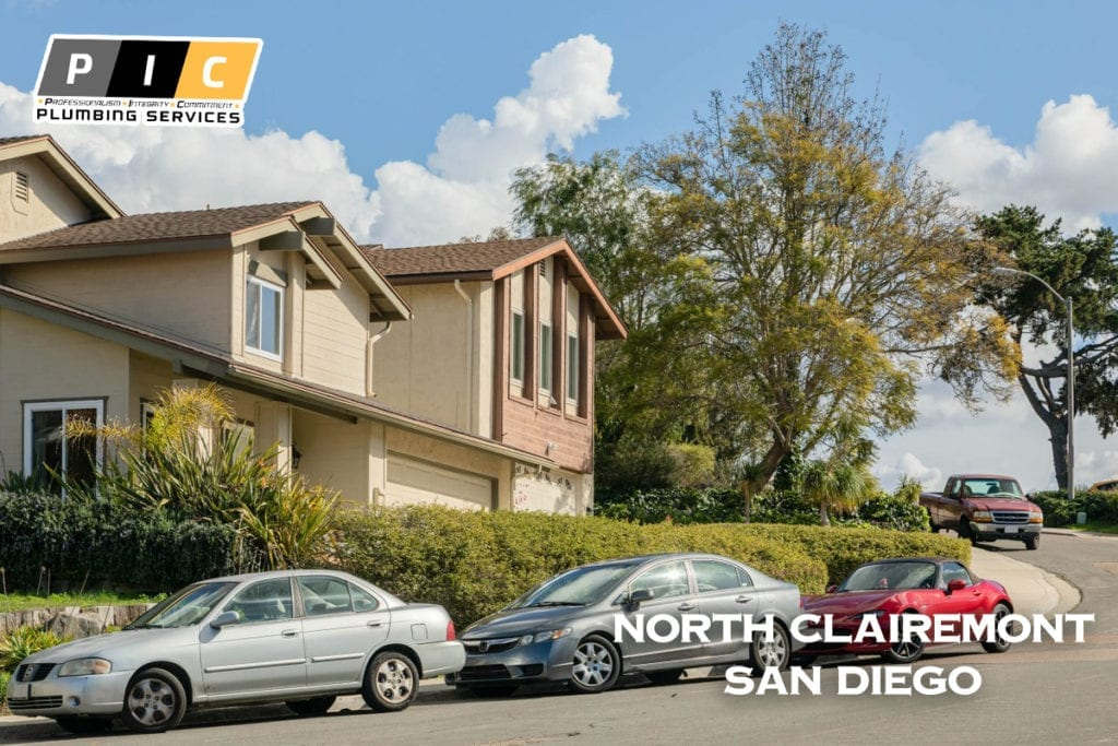 Plumbers in North Clairemont San Diego California
