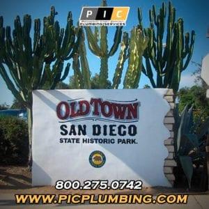 Plumbers in Old Town San Diego California