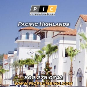Plumbers in Pacific Highlands San Diego California