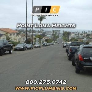 Plumbers in Point Loma Heights San Diego California