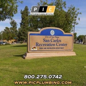 Plumbers in San Carlos San Diego California