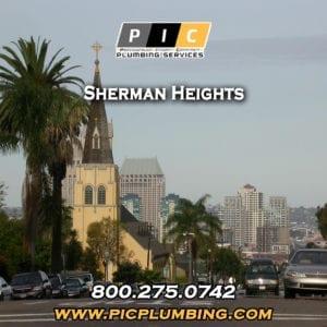 Plumbers in Sherman Heights San Diego California