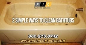 Simple Ways to Clean my Bathtub in San Diego