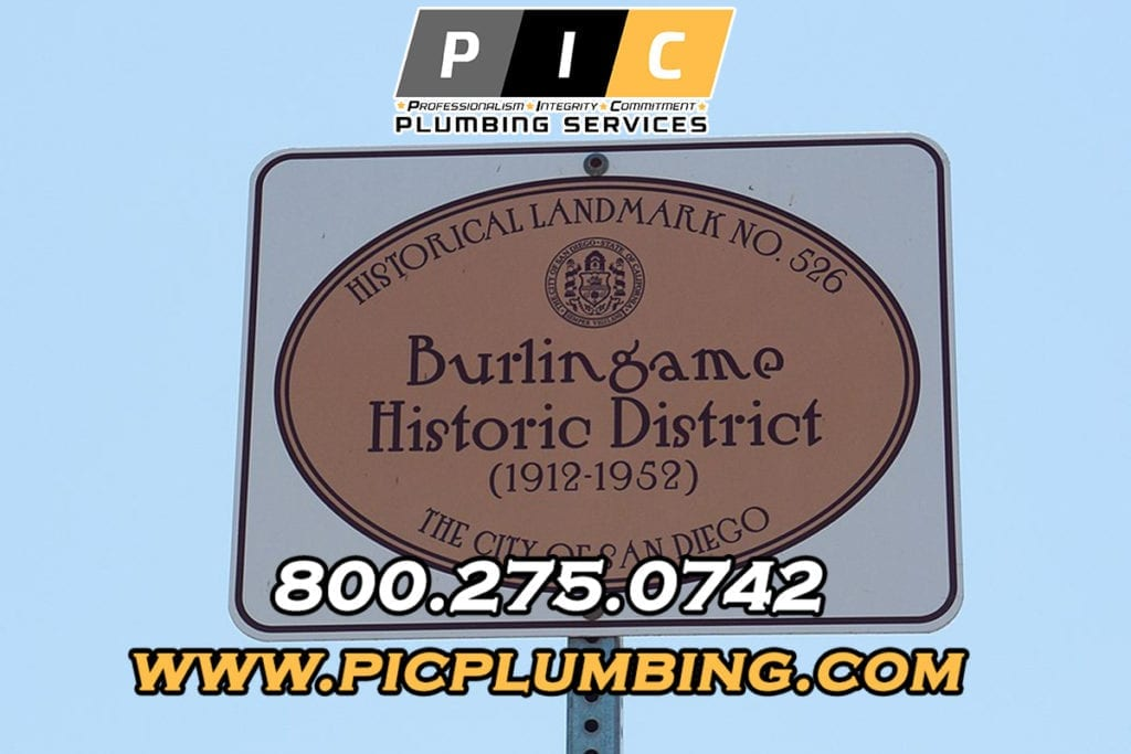 Plumbers in Burlingame San Diego California