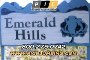 Plumbers in Emerald Hills San Diego California