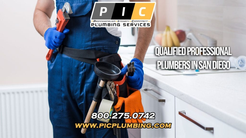 Qualified Professional Plumber in San Diego California
