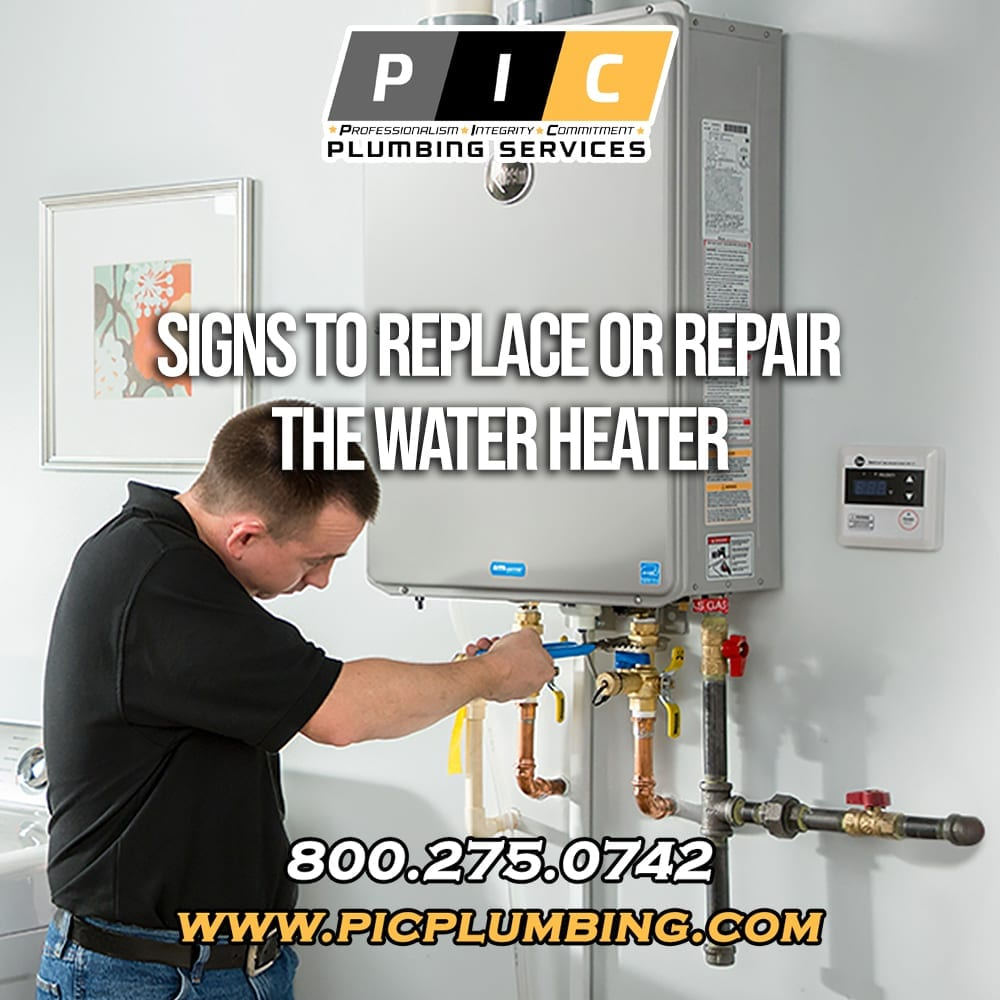 Signs to Repair or Replace Your Water Heater in San Diego California