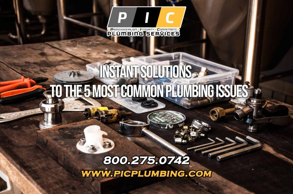 Instant Solutions to the Most Common Plumbing Issues in San Diego California