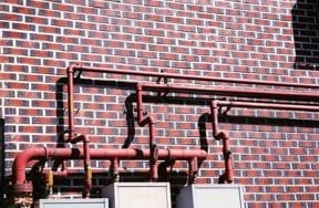plumbing pipes at home