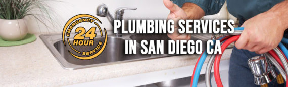 Plumbing Services Available 24 Hours in San Diego Ca