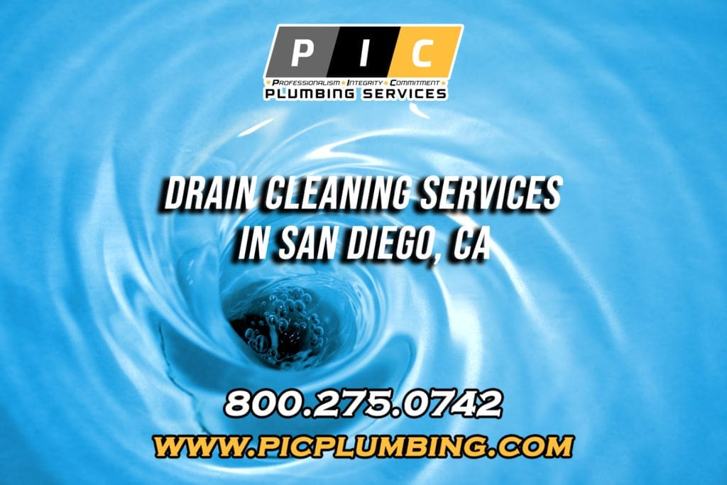 Drain Cleaning Services in San Diego California