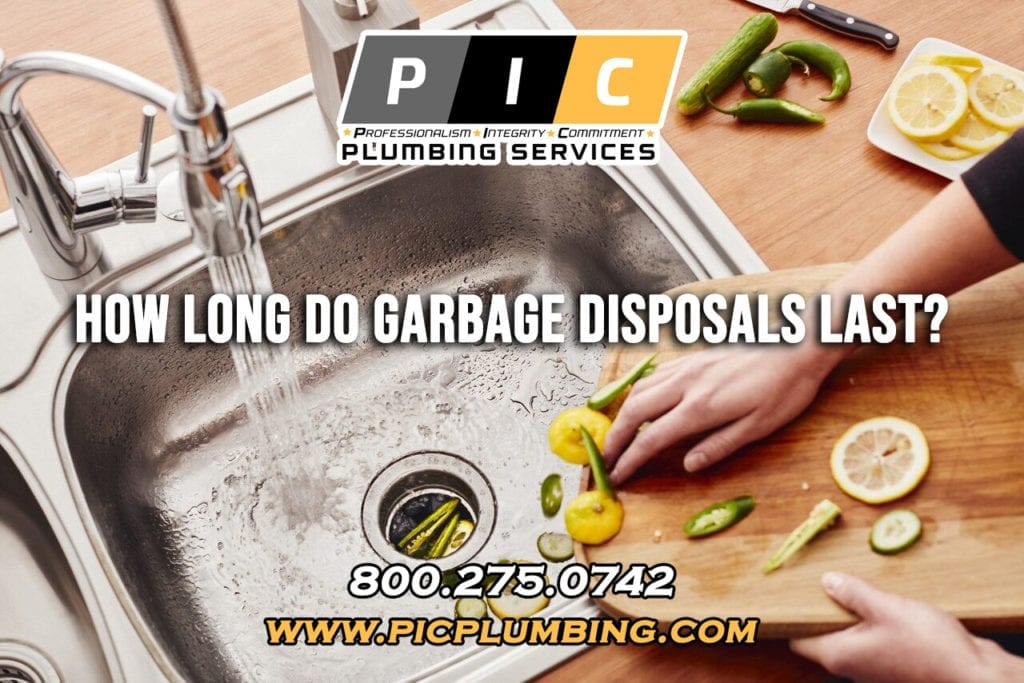 How Long Should a Garbage Disposal Last in San Diego California