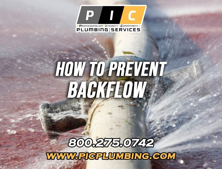 How To Prevent a Water Backflow in San Diego California