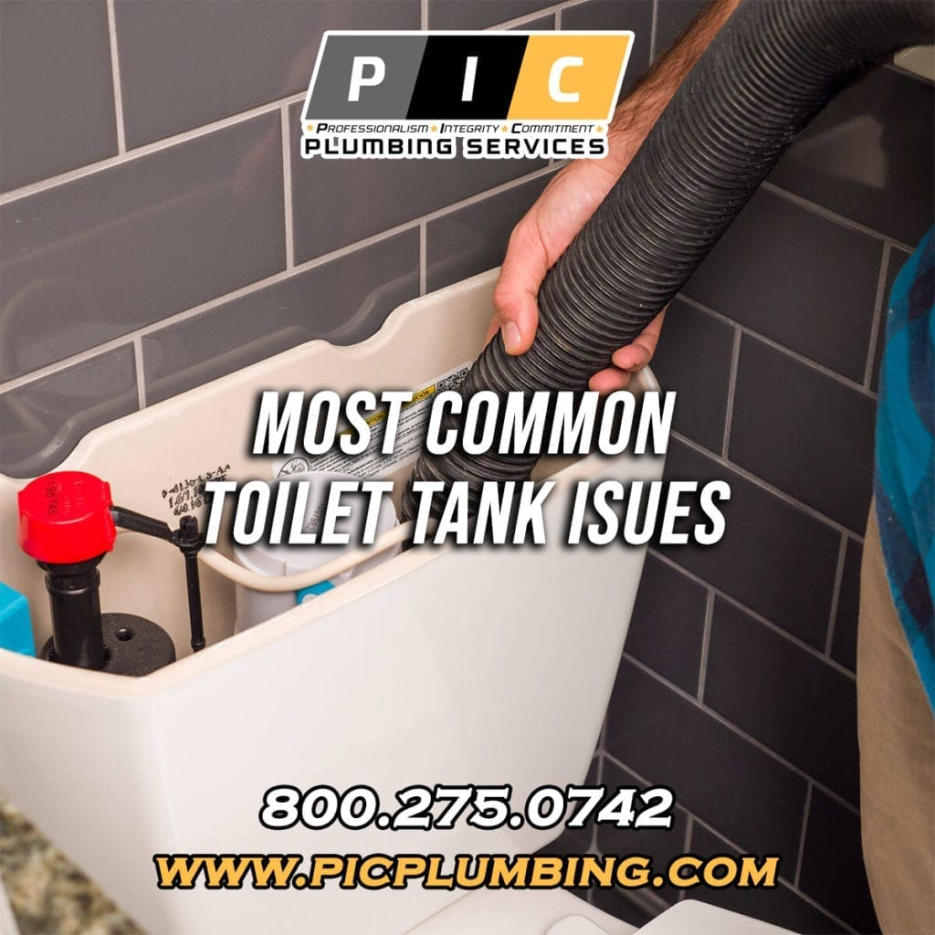 3 Common Toilet Tank Issues in San Diego California