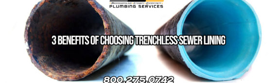 Top 3 Advantages of Trenchless Sewer Lining in San Diego