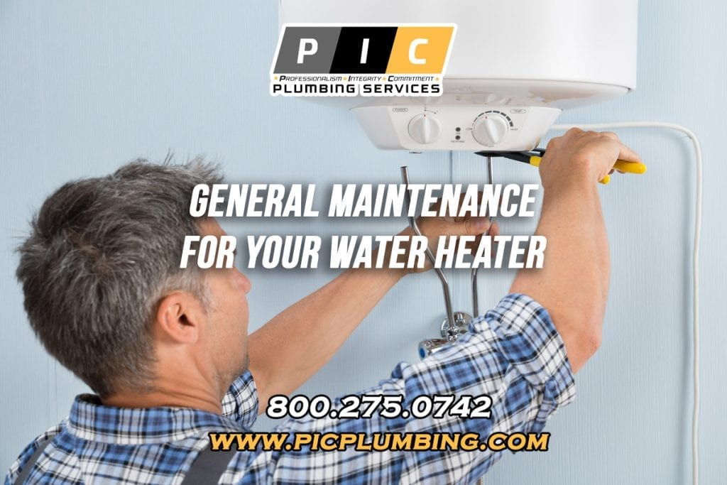 General Maintenance for Water Heaters in San Diego California