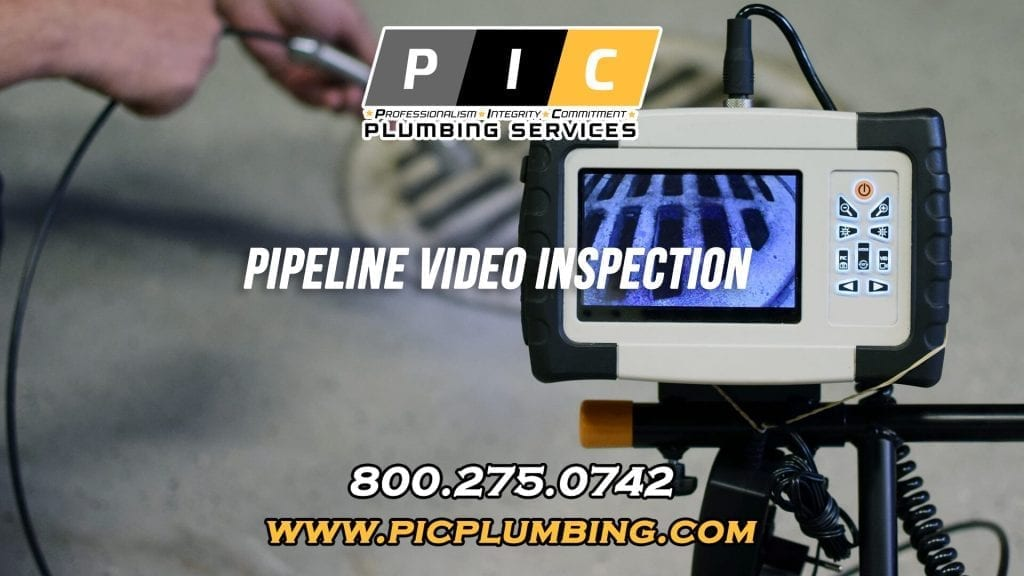 Pipeline Video Inspection in San Diego California