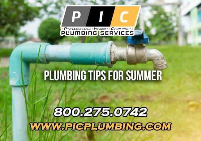 Plumbing Tips for Summer in San Diego