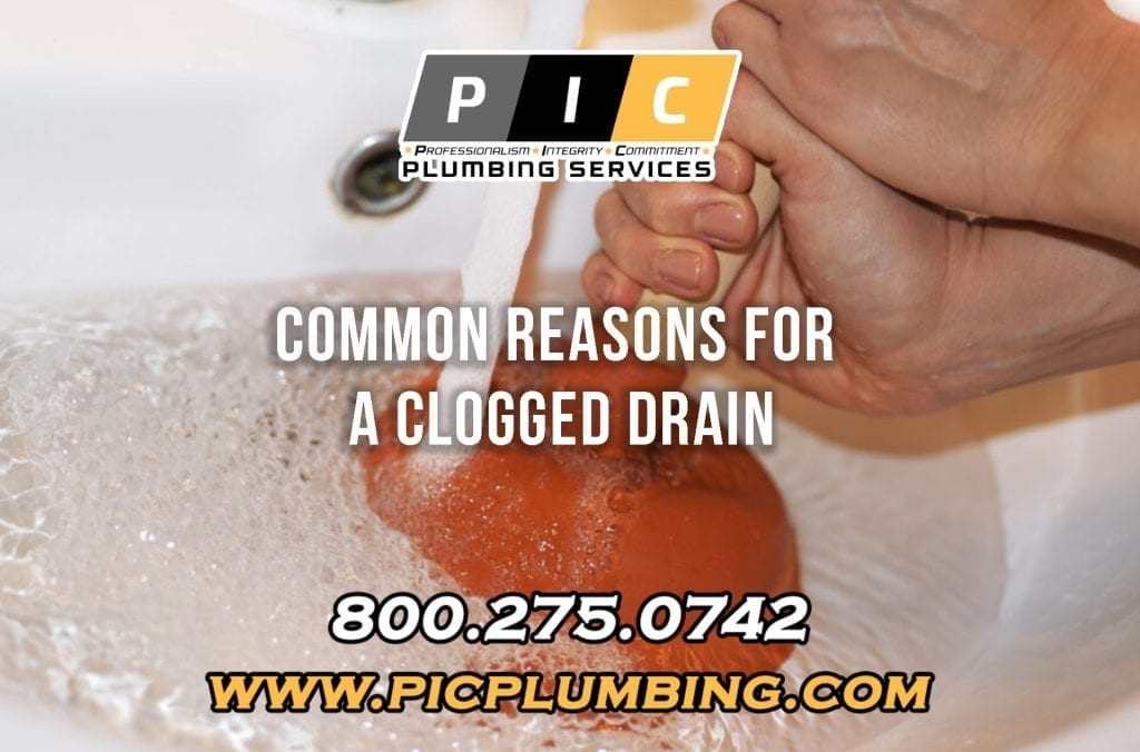 Common Reasons For A Clogged Drain in San Diego