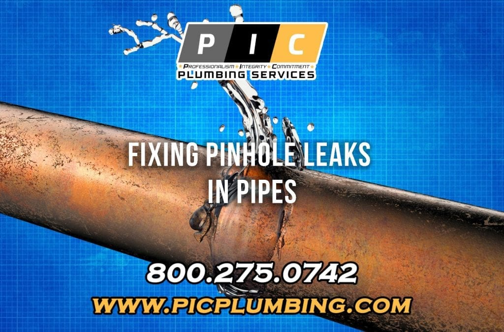 Fixing Pinhole Leaks in Pipes in San Diego