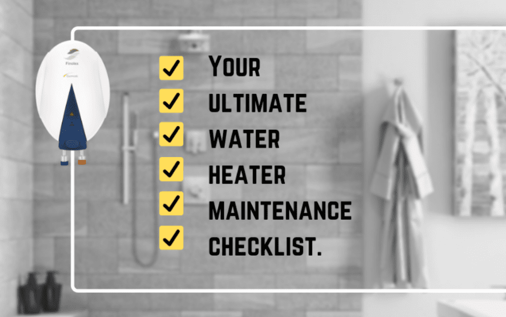 Water Heater Maintenance Checklist with Pic Plumbing San Diego