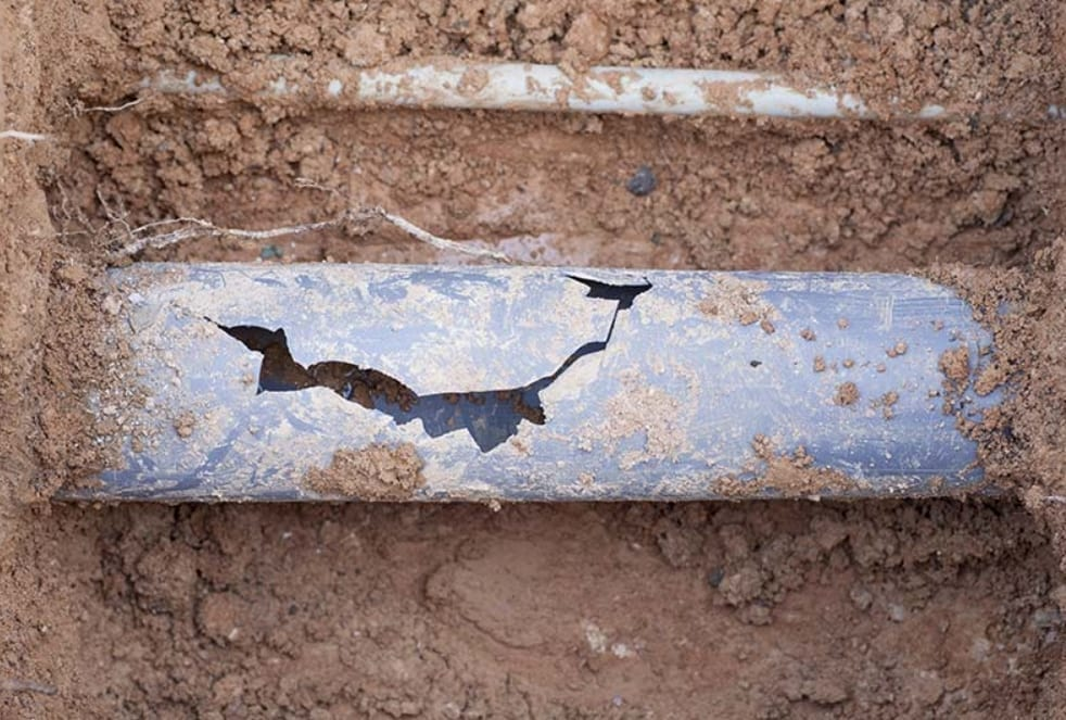 What Causes A Collapsed Pipe San Diego?